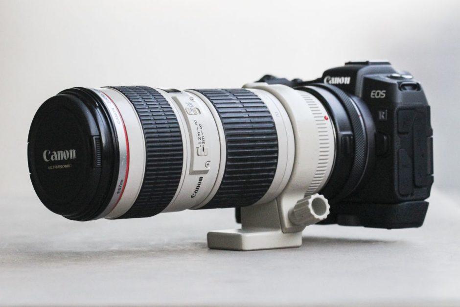 Canon EOS RP et Canon 70-200 mm f/4 L USM