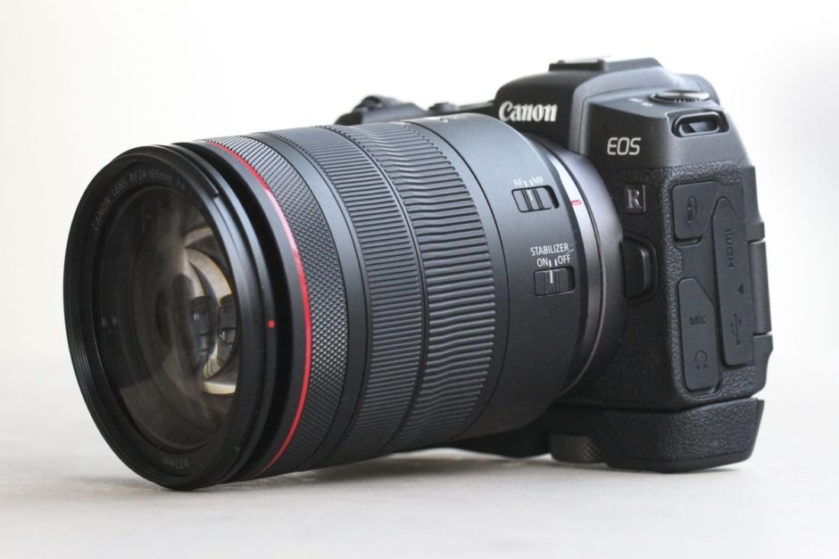 Canon EOS RP et RF 24-105 mm f/4 L IS USM