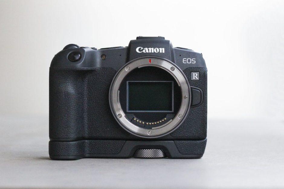 Canon EOS RP face avant