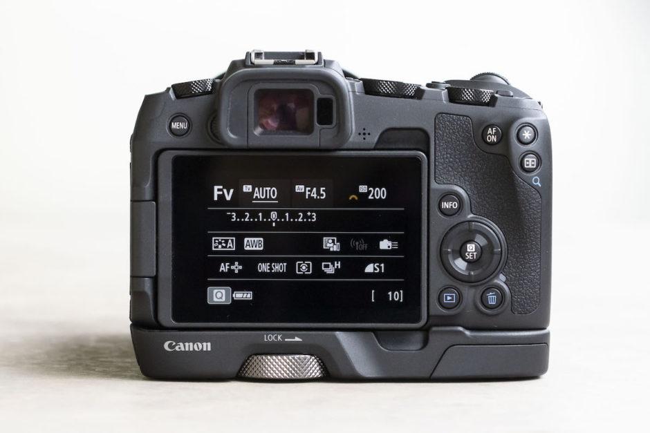Canon EOS RP mode FV