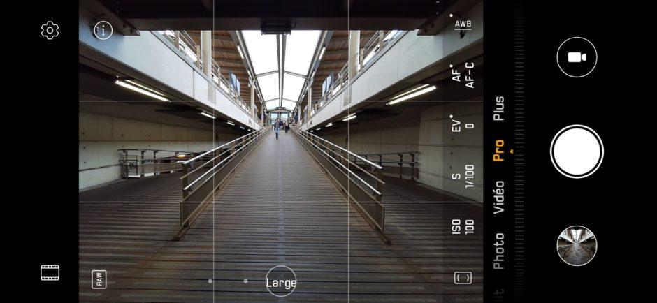 Huawei P30 Pro Capture Appli Photo Mode Pro