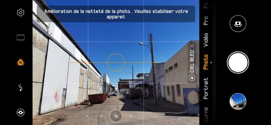 Huawei P30 Pro Capture Appli Photo Ultra Grand Angle