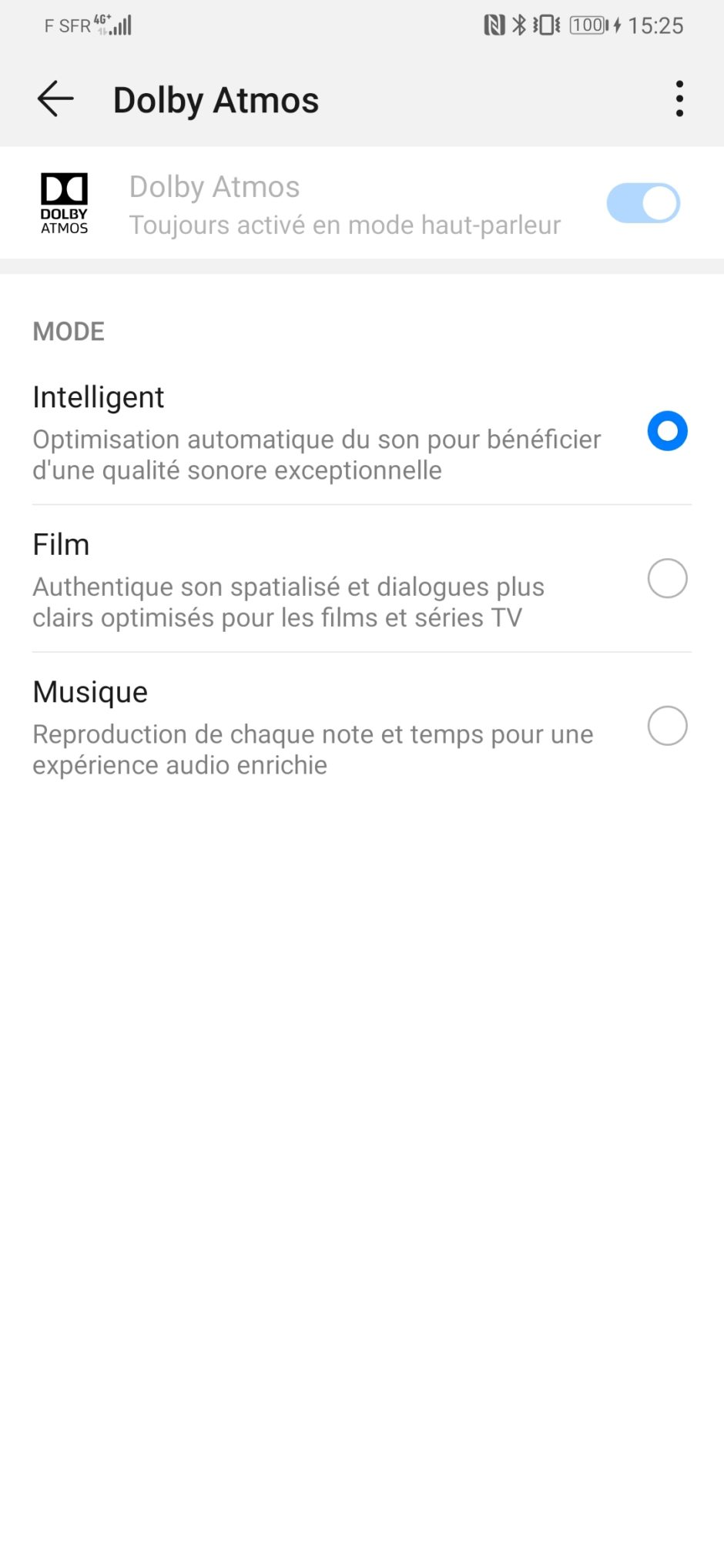 Huawei P30 Pro Dolby Atmos