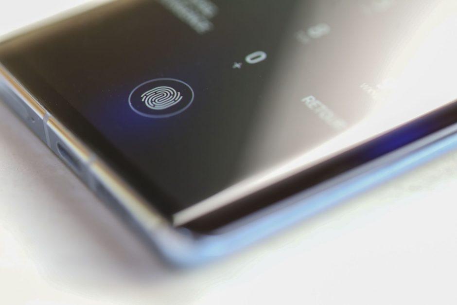 Huawei P30 Pro lecteur d'empreinte