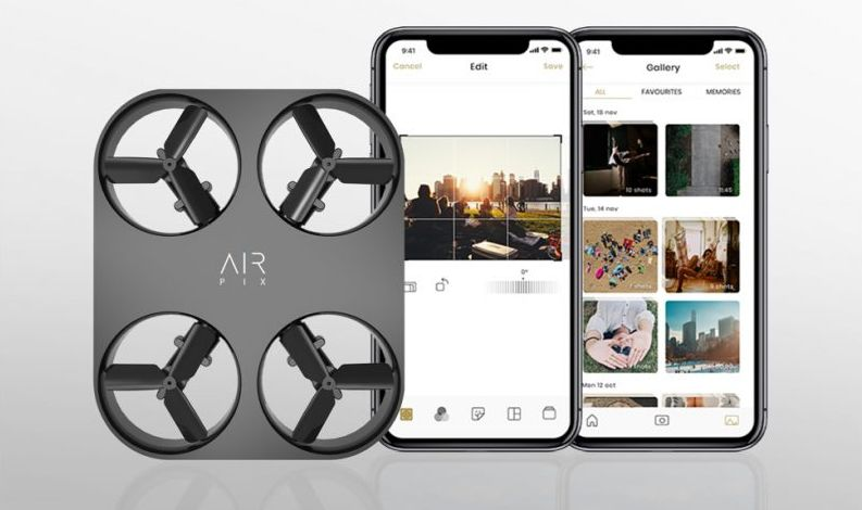 Air Pix Application Mobile