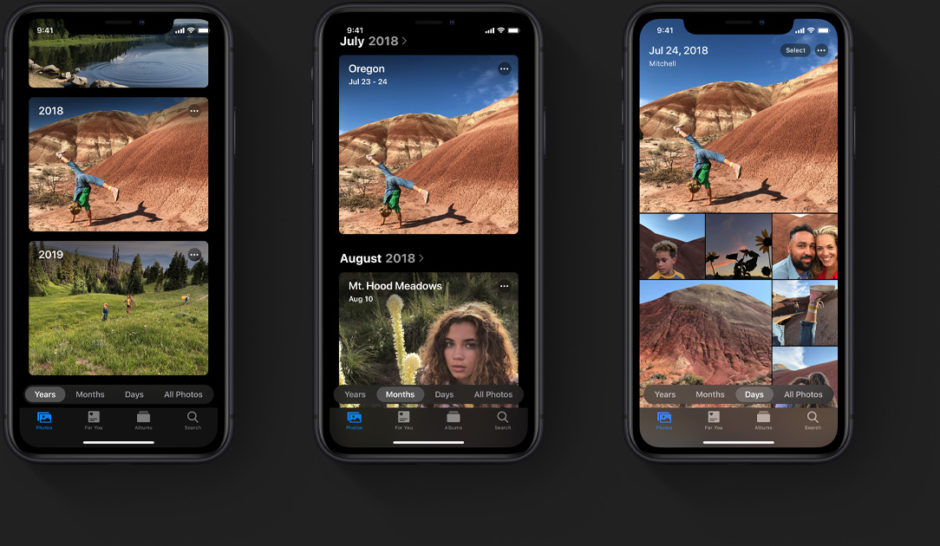 Apple IOS 13 App Photos