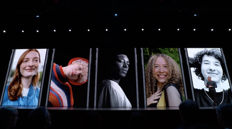 Apple IOS 13 Portrait Modes