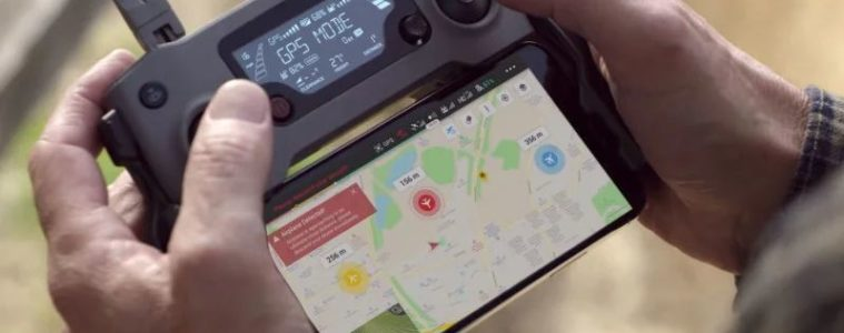DJI AirSense ADS B Détection