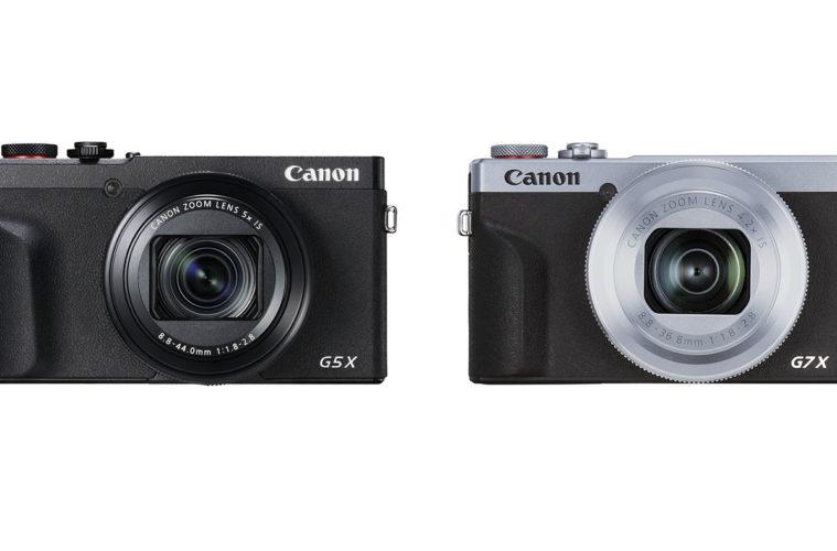 Canon G5X Mark II & G7X Mark III