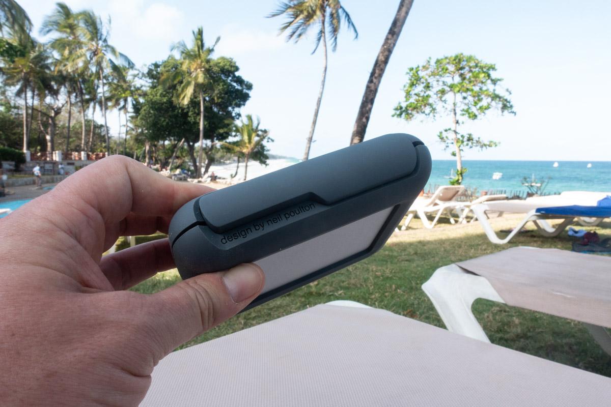 Le LaCie DJI Copilot fait partie des produits designés par Neil Poulton