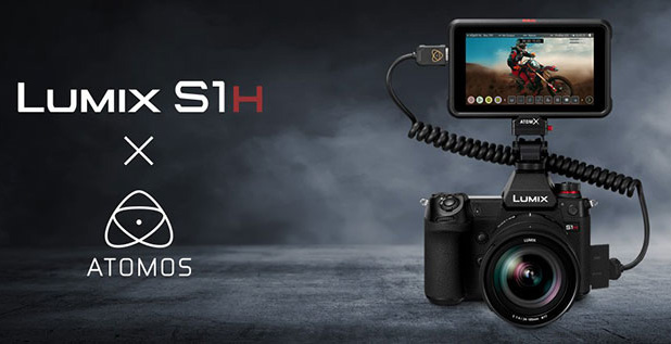 Offre de lancement : le moniteur-enregistreur Atomos Ninja V offert pour l'achat du Lumix SH1