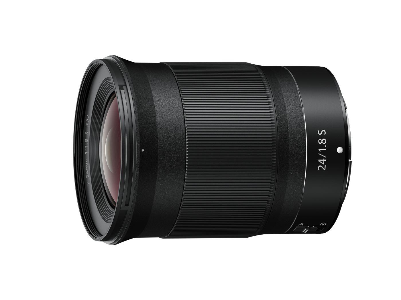 NIKKOR Z 24mm f/1.8 S : focale fixe grand angle pour hybride Nikon Z