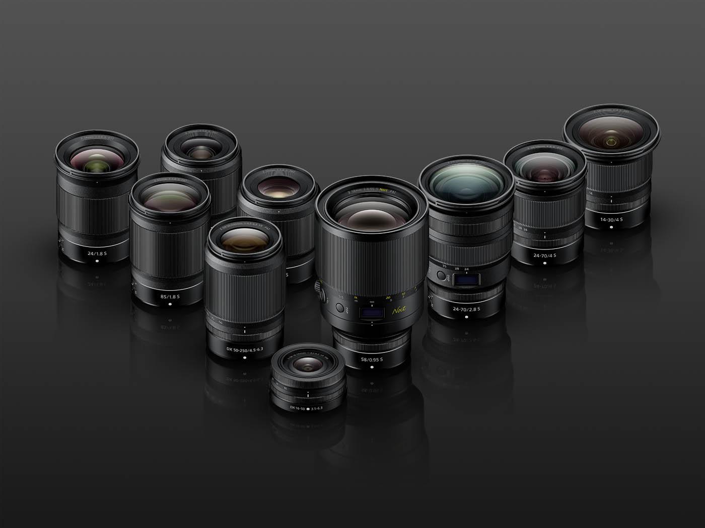 Nikon : nouvelle roadmap pour les optiques NIKKOR Z, poignée MB-N10 pour Z 6 / Z 7 et 8999€ pour le NIKKOR Z 58mm f/0.95 S Noct