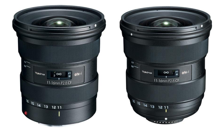Tokina atx-i 11-16 mm f/2.8 CF