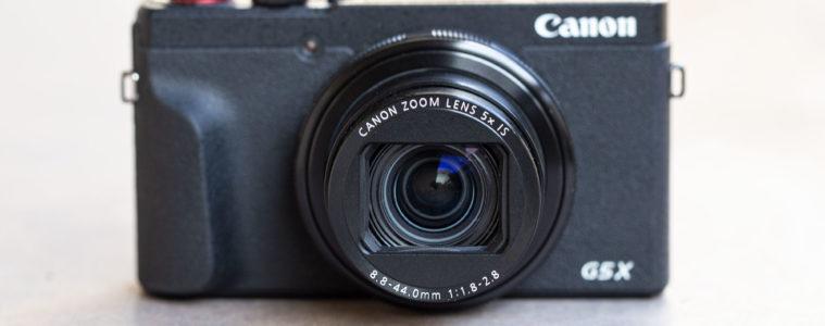 Canon Powershot G5 X Mark II Header