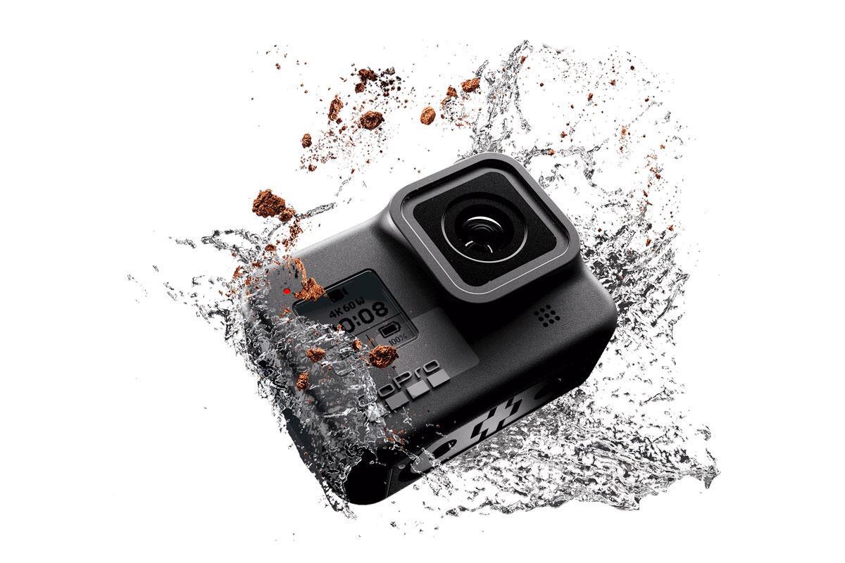 GoPro Hero8 Black et GoPro Max : vidéo 4K 60p, stabilisation HyperSmooth 2.0 et capture vidéo 360