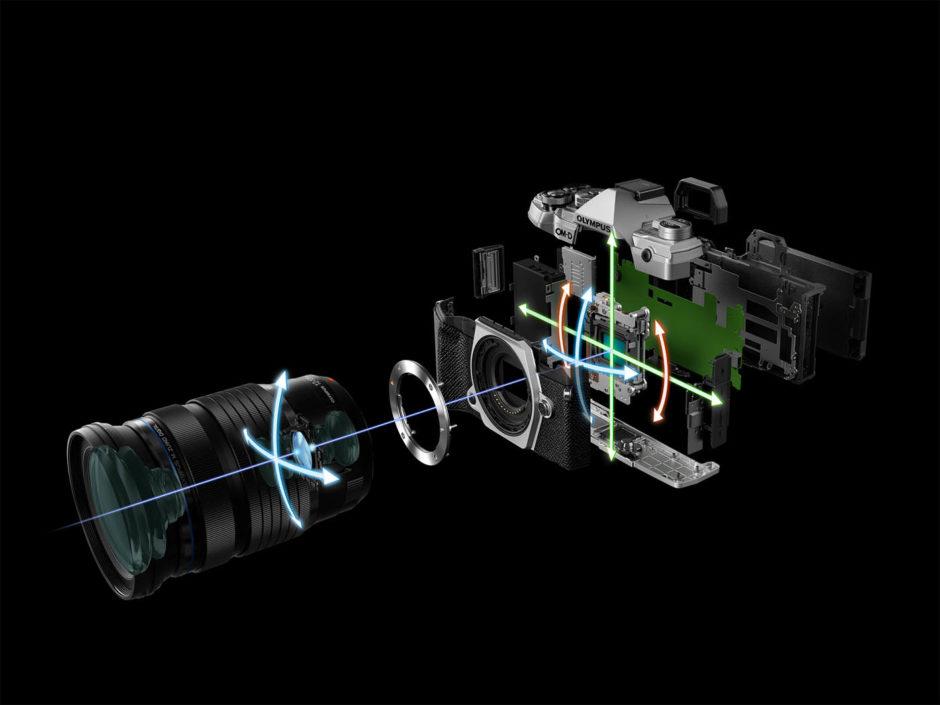 Olympus OM-D E-M5 Mark III Stabilisation 5 axes