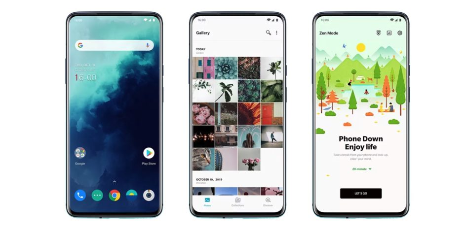 OnePlus 7T Pro interface