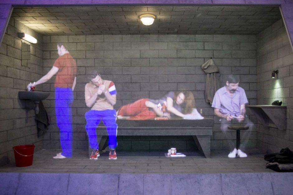 Prison au-delà des murs Musée Confluence théâtre optique