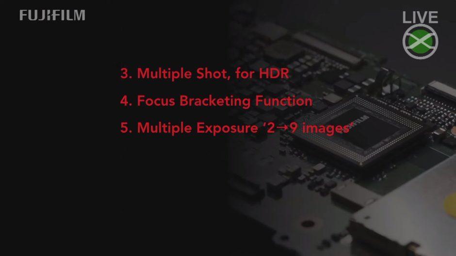 Fonctionnalités retenues pour une prochaine mise à jour firmware Fujifilm
