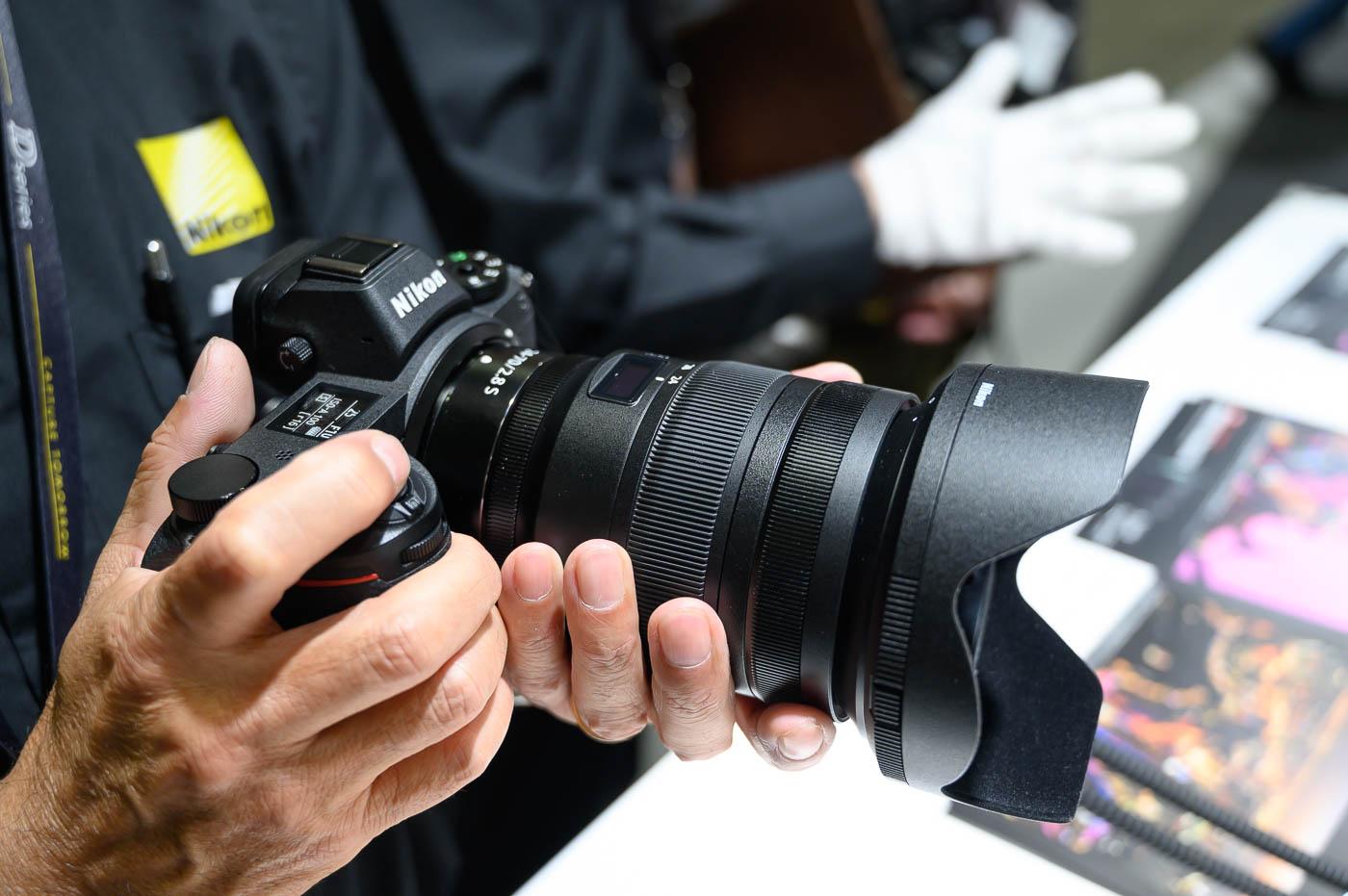 Nikon au Salon de la Photo 2019 : «le Nikon Z 6 est numéro 2 du marché sur l'hybride plein format» 1 an seulement après sa sortie