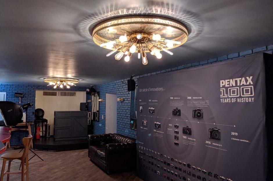 Phototrend Pentax café 100 ans