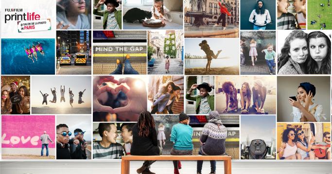 Fujifilm Printlife 400 M² De Photos Exposées Au Salon De