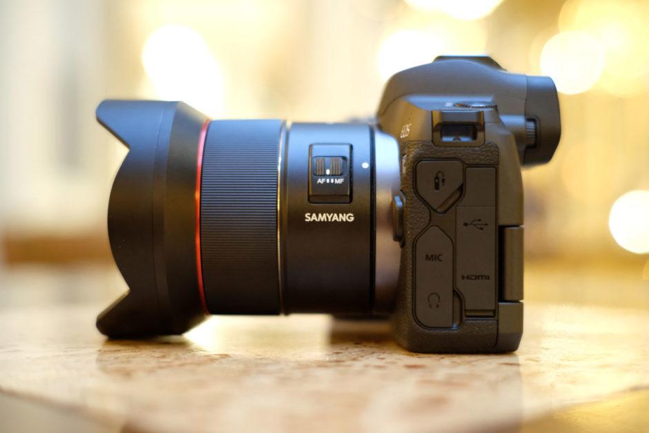 Phototrend Test Samyang AF 14 mm f/2,8 RF