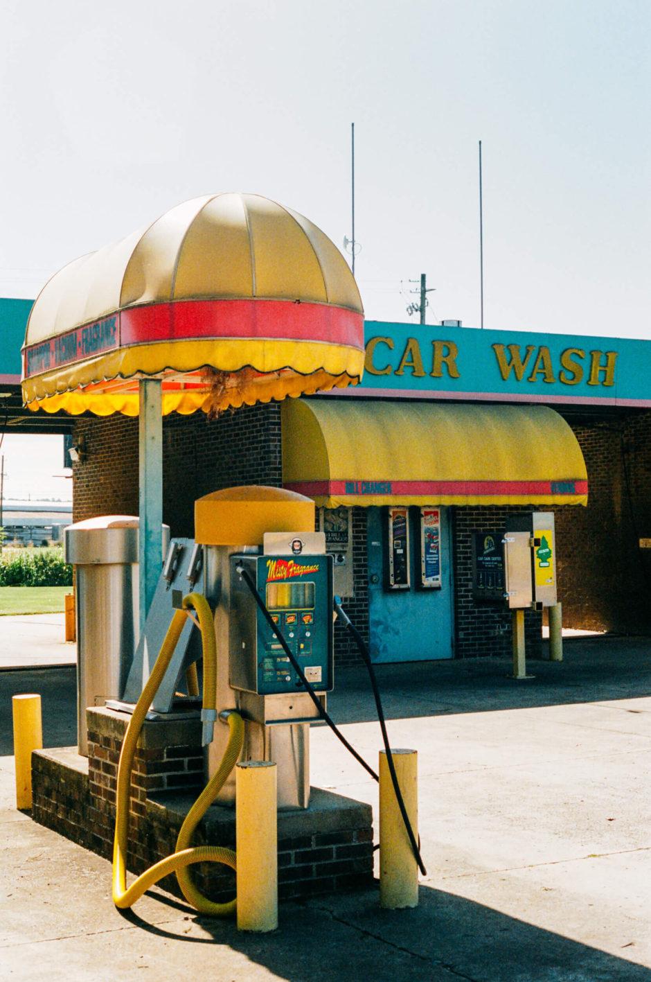 Station essence aux Etats-Unis