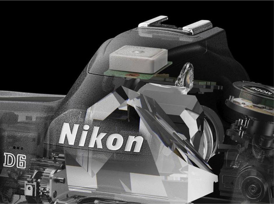 Le GPS est désormais intégré sur le Nikon D6