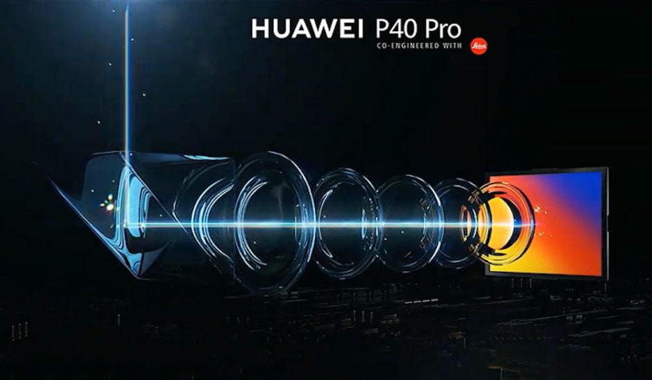 Huawei P40 Pro zoom périscopique