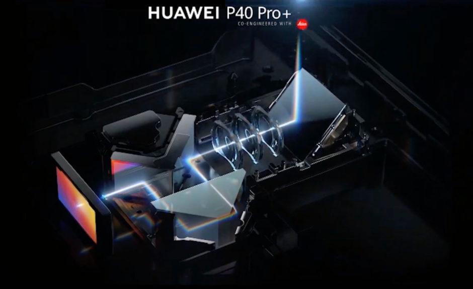 Huawei P40 Pro+ zoom périscopique