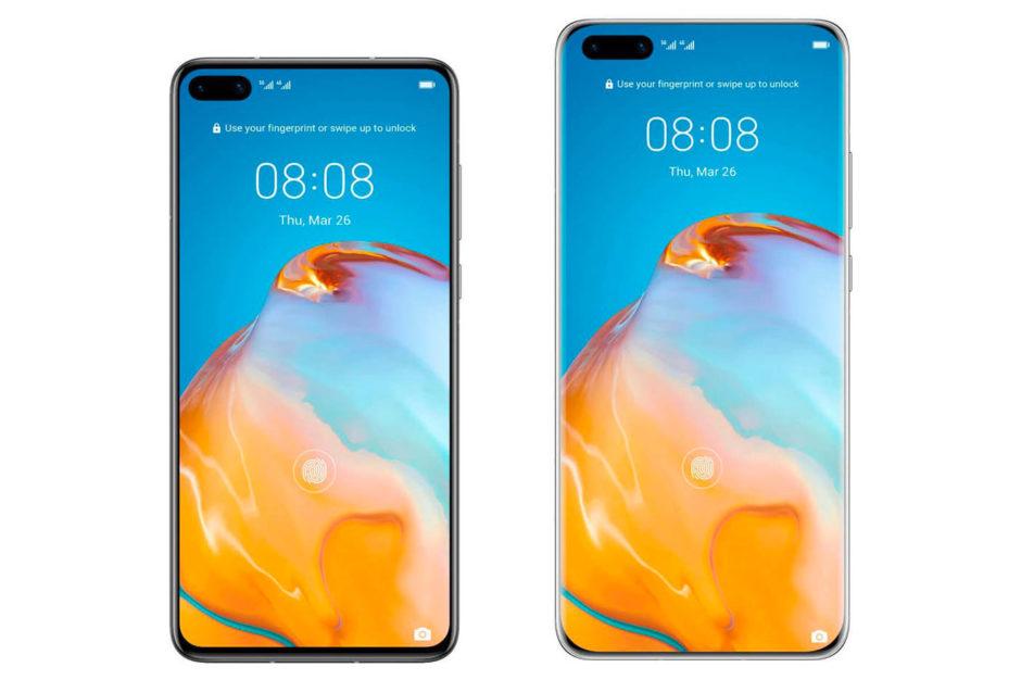 Huawei P40 et Huawei P40 Pro