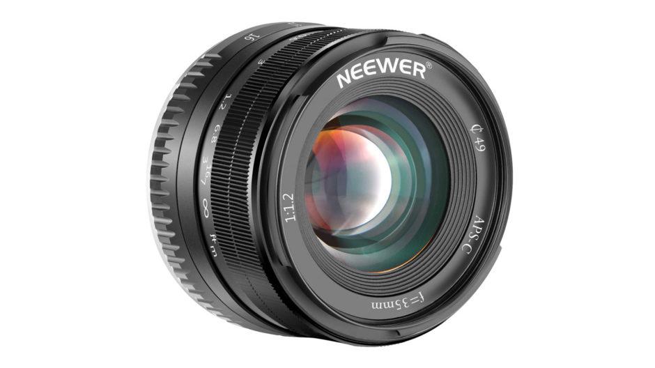 Neewer 35 mm f/1,2