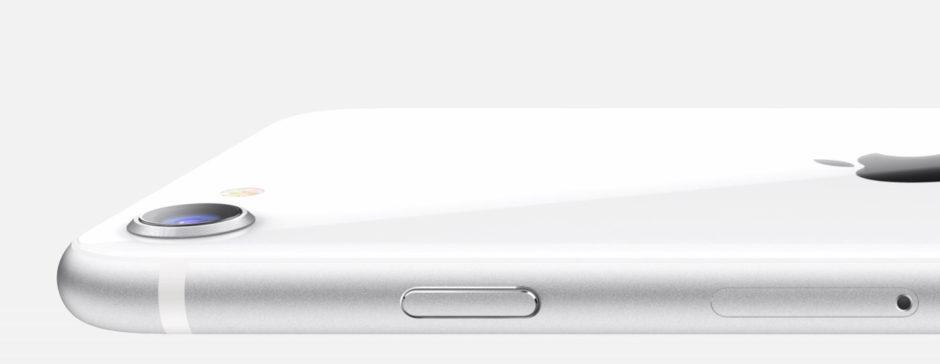 iPhone SE capteur dorsal