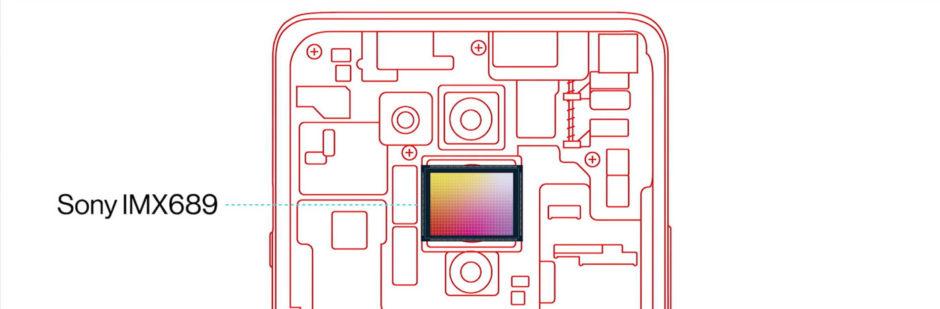 OnePlus 8 Pro capteur Sony IMX689