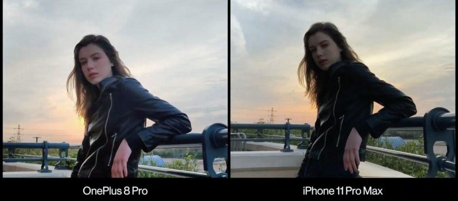 OnePlus 8 Pro HDR vidéo