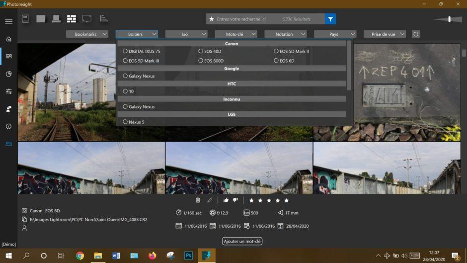 PhotoInsight Phototrend