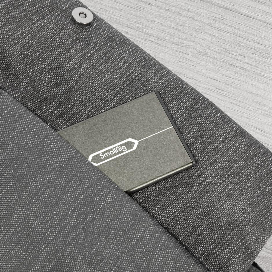 Design sobre et élégant du porte-cartes Smallrig