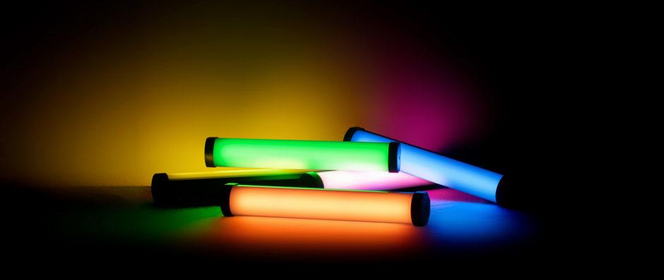 Exemples de lumières RGB avec le Nanlite PavoTube 6C II