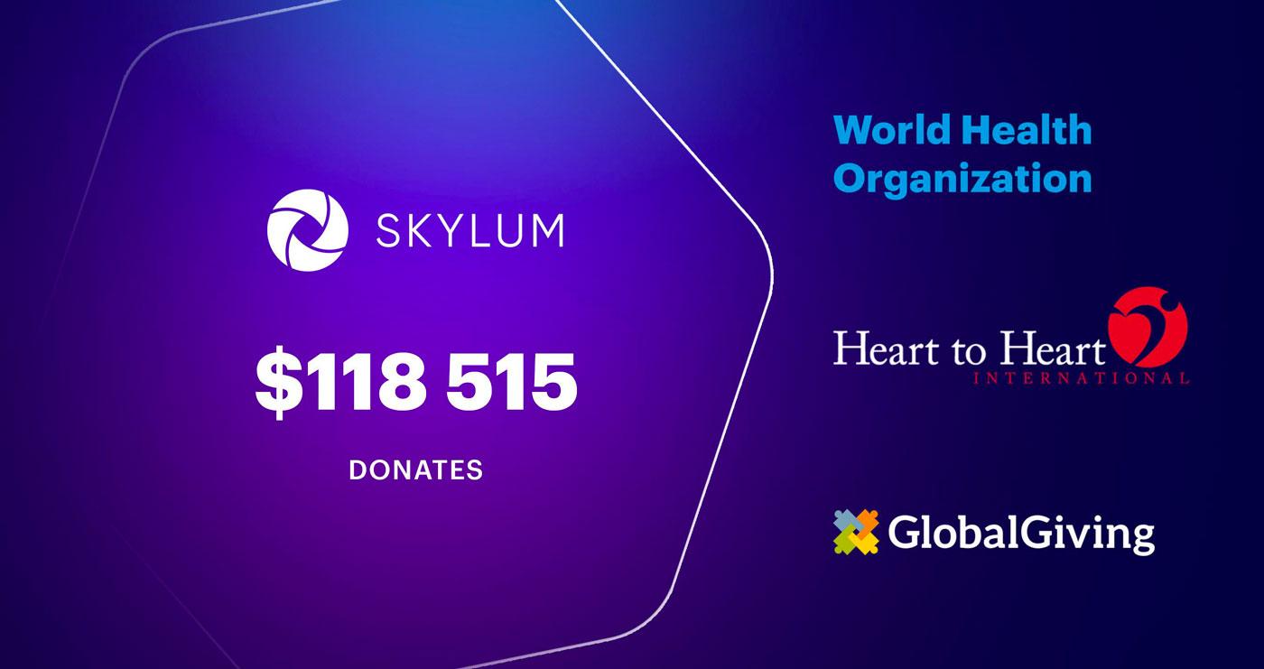 Skylum donates