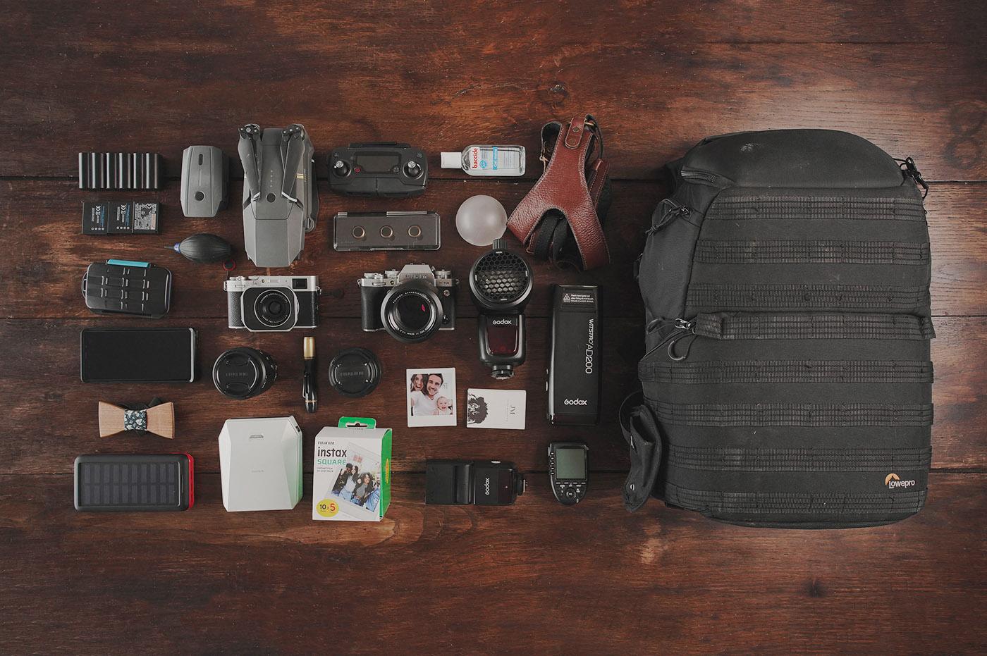 DLSP #105 : Dans le sac photo de Julien Miscischia