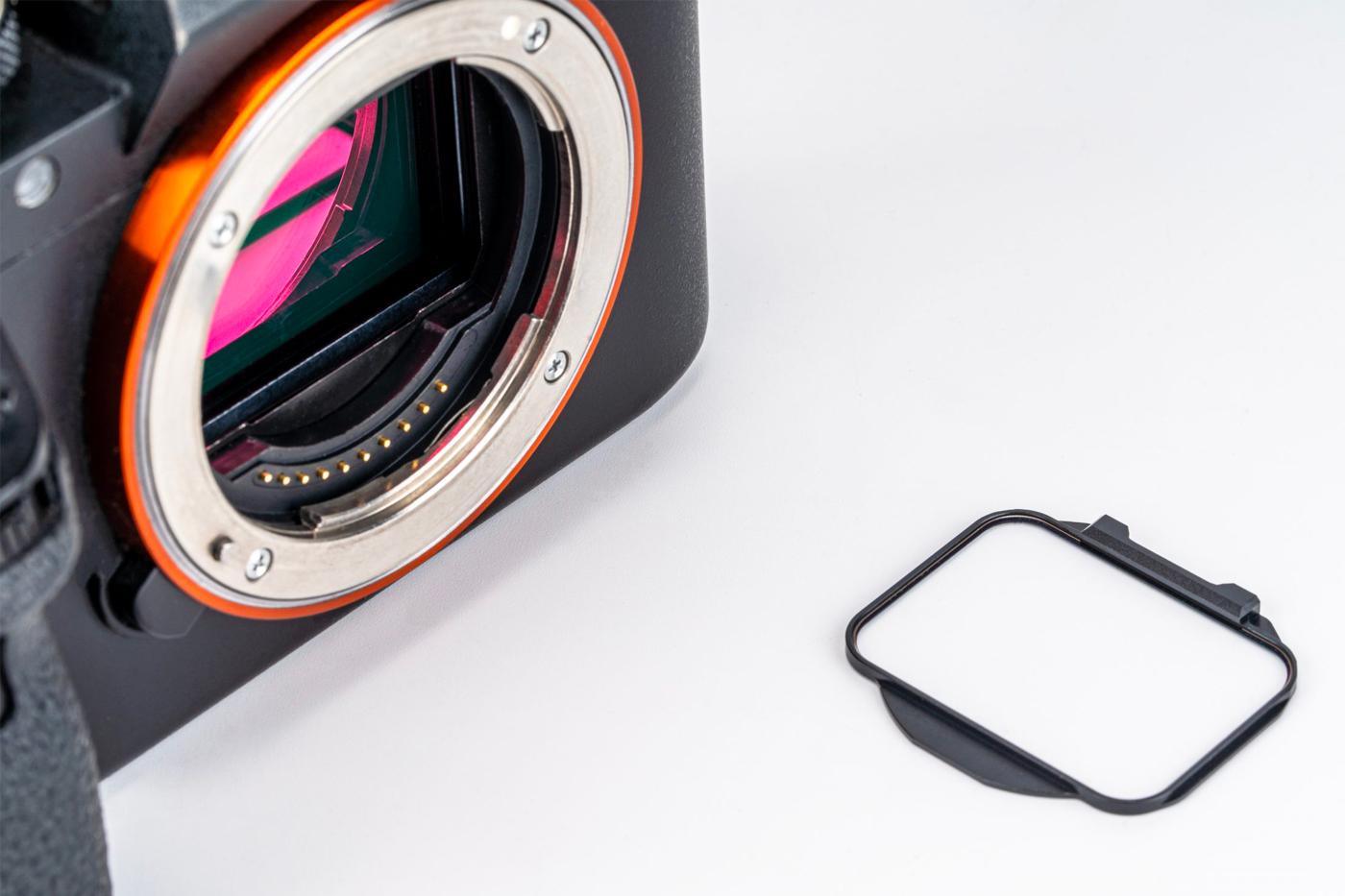 Filtres Clip-in de Kase : les filtres s'invitent devant votre capteur