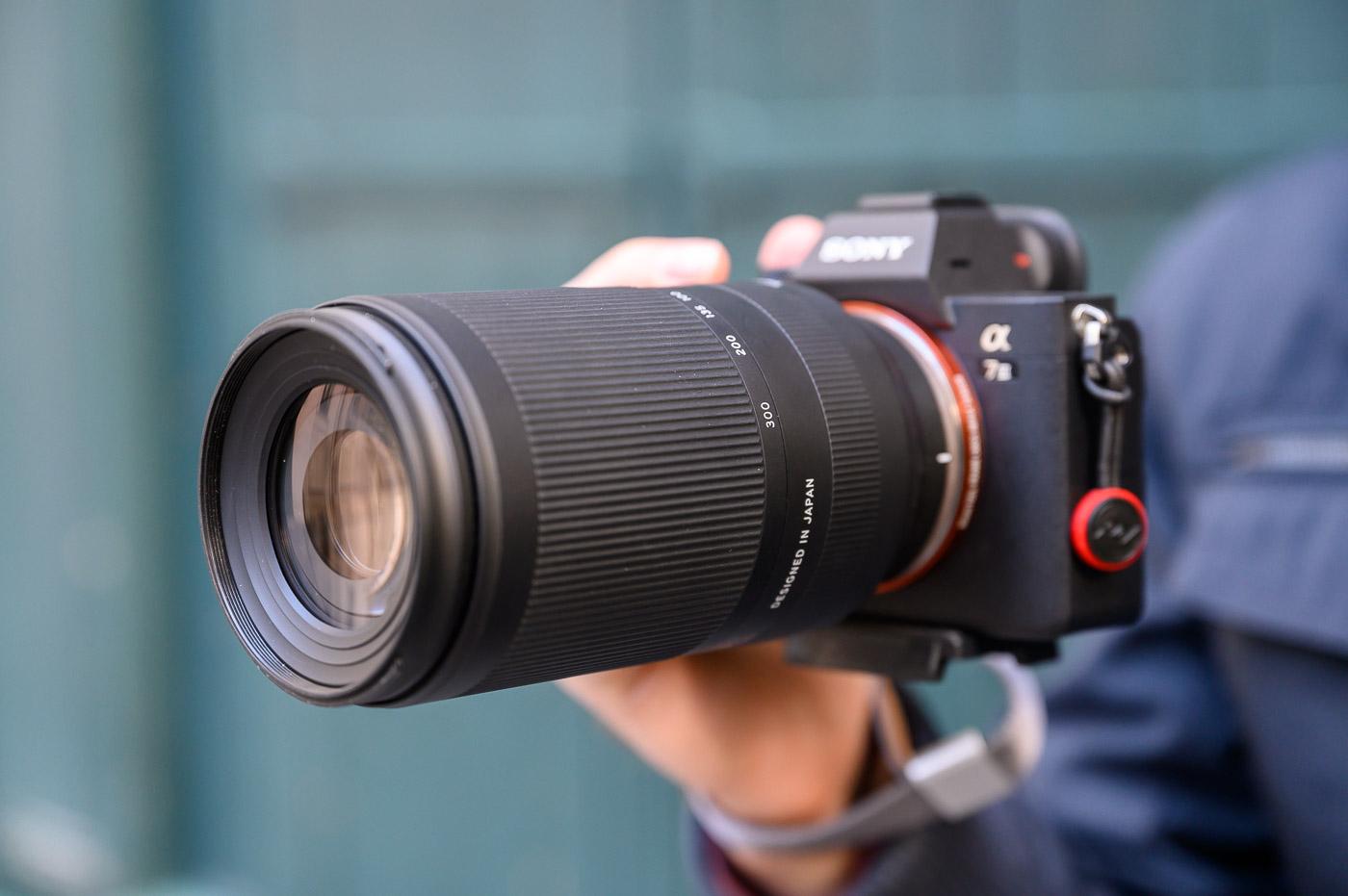 Test Tamron 70-300 mm f/4,5-6,3 Di III RXD, téléobjectif léger et abordable pour hybrides Sony