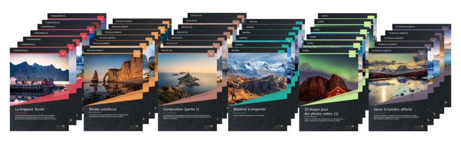 Les 40 fiches Terres de Photographes