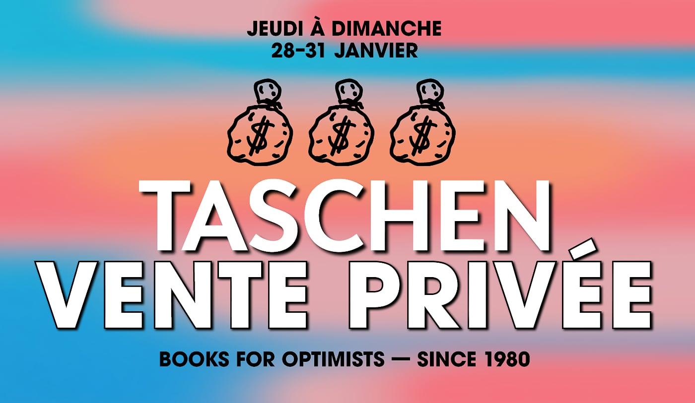 Vente privée sur les livres Taschen du 28 au 31 janvier 2021