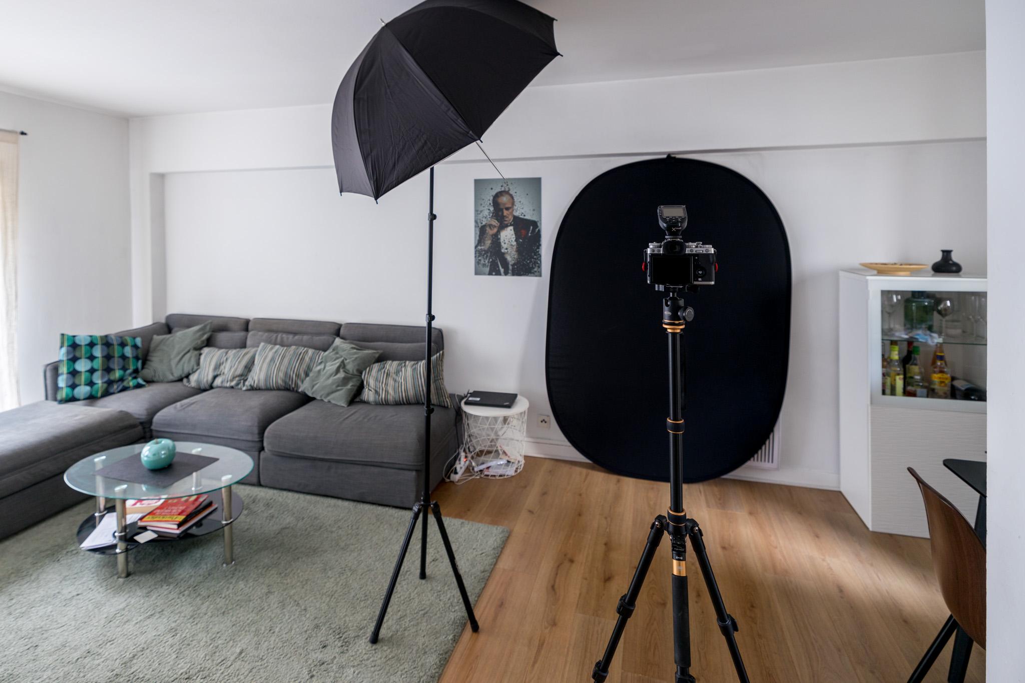 MP #211 : transformer son salon en studio photo professionnel pour moins de 300 €