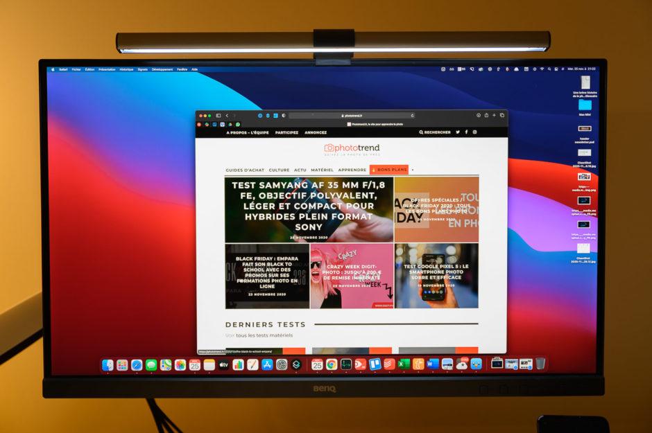 ScreenBar BenQ Test Phototrend
