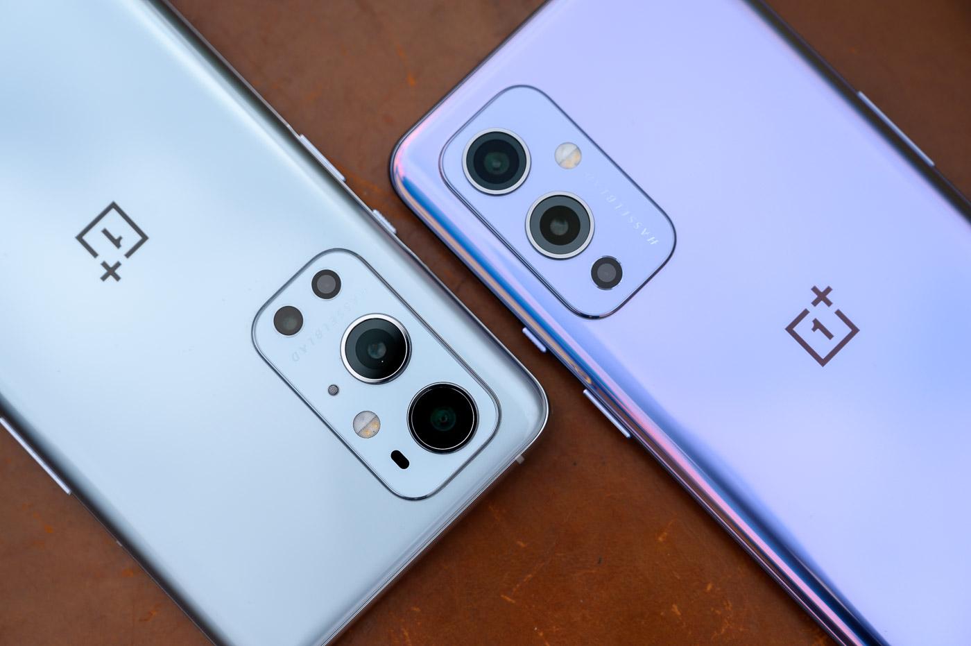 OnePlus 9 et OnePlus 9 Pro