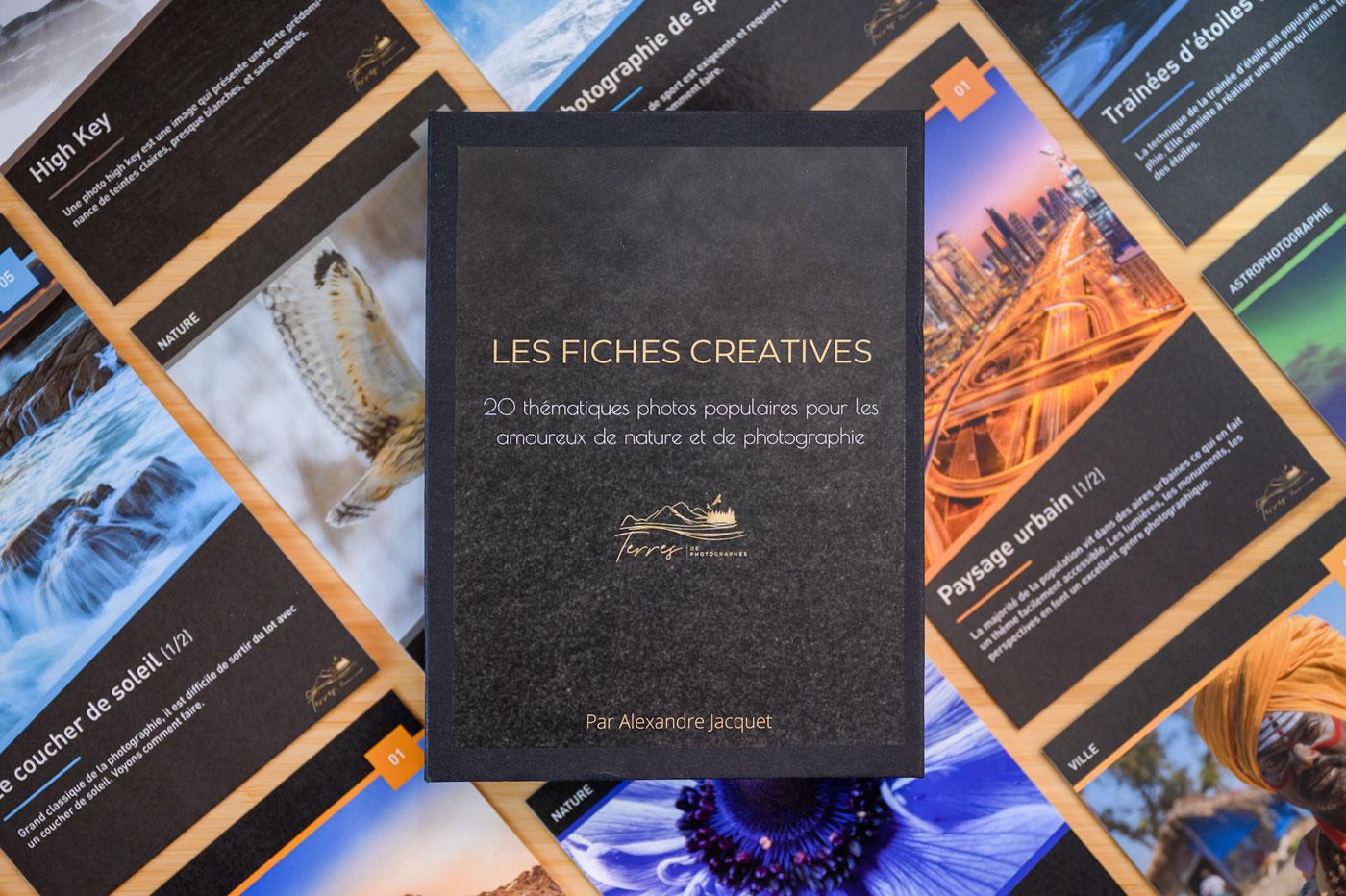 Terres de Photographes : 20 fiches créatives pour être prêt à photographier